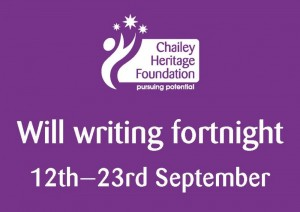 Will Writing Fortnight 12th - 23rd September 2016